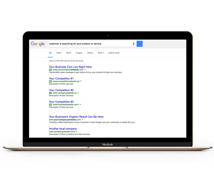 Google Ranking SEO Service Toronto Business Mastery