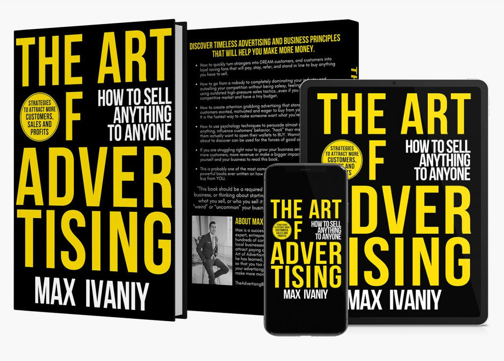 The Art Of Advertising by Max Ivaniy